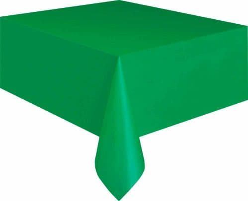 Green Christmas Table Cloth Tablecloth 9 x 4.5 ft (2.74m x 1.37m) Cover